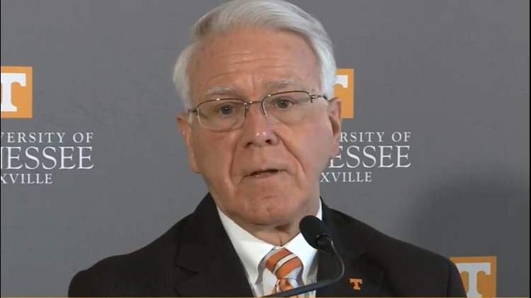 Wayne Davis, interim chancellor at UTK
