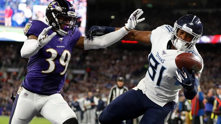 APTOPIX Titans Ravens Football
