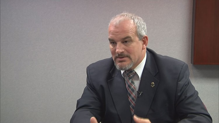 The TBI's Tommy Farmer oversees a state dangerous drugs task force. His work includes identifying and catching meth users and alerting law enforcement about suspected meth makers.