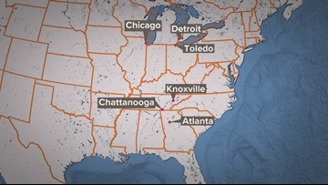 Tracing An Overdose: How drugs make their way from Detroit to Knoxville