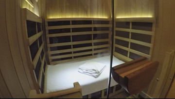 10 Gets Toasty: Step inside an infrared sauna in Knoxville