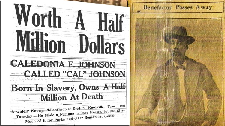 Cal Johnson Death Newspaper half million