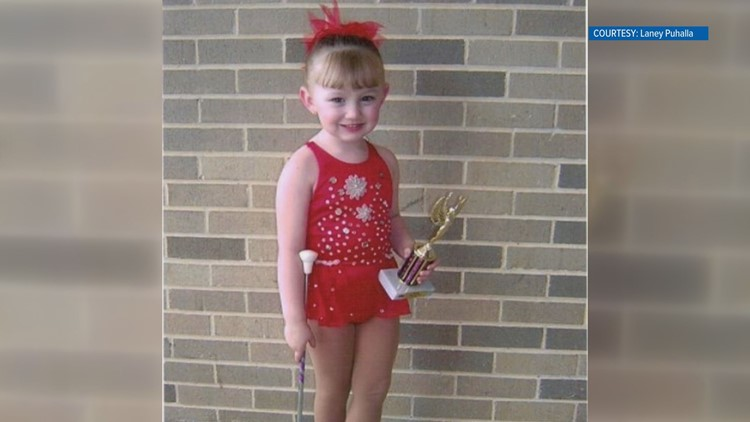 Her love of baton started early