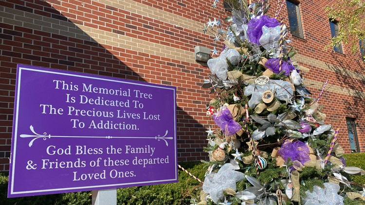 'They're not going to be forgotten' | Blount Co. memorial tree honors those lost to addiction