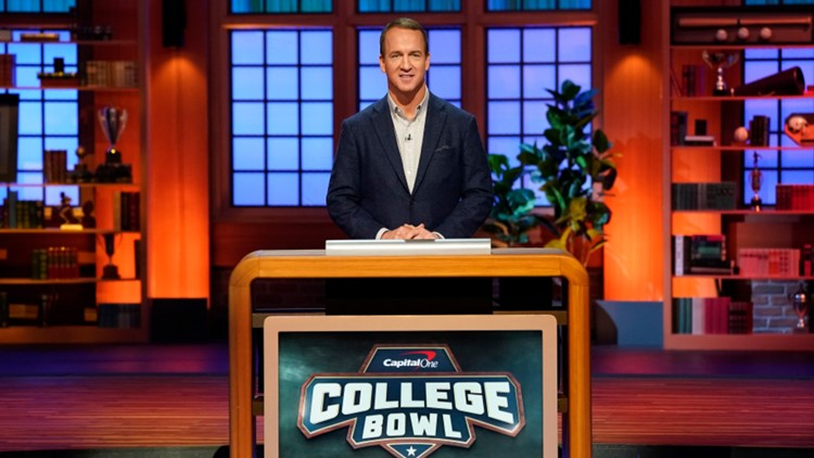 How much do you know about Peyton Manning? Reboot of College Bowl to premiere Tuesday