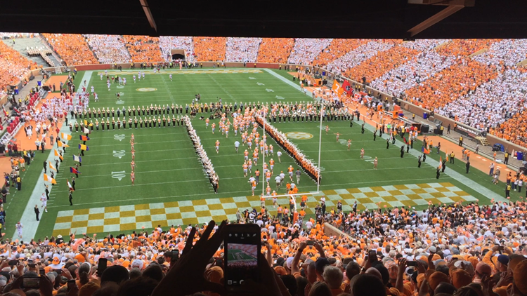 Celebrating 55 years of the Vols running through the T