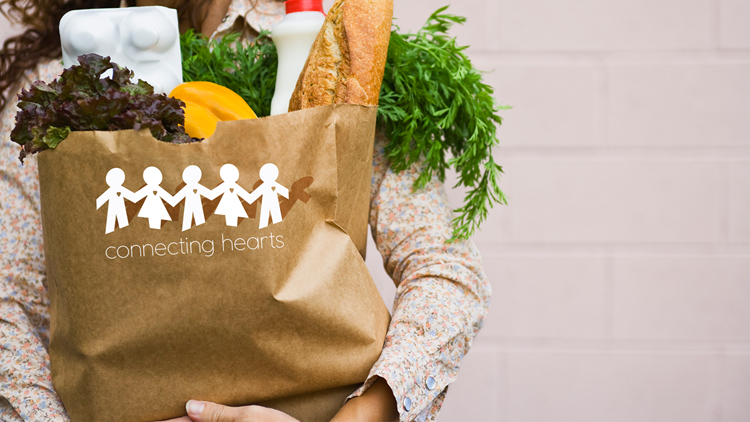 Connecting Hearts: Grocery items for seniors in need
