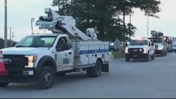KUB contract crews head to Carolinas