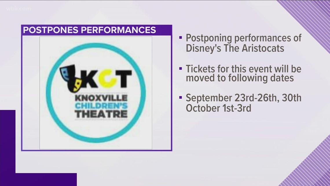 Knoxville Children's Theatre postpones weekend performances of