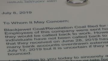 Kentucky, Virginia AGs make plea for 'immediate payment' of Blackjewel coal miners