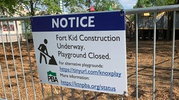City of Knoxville begins demolition of Fort Kid