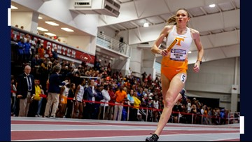 Lady Vol runner has Olympic bloodlines