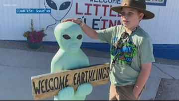 Knoxville boy scout 'probes' Area 51 before 'Storm' event