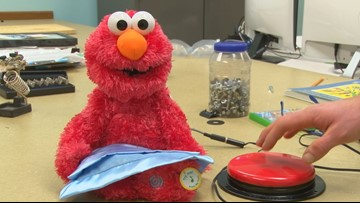 Modified toys make Christmas special for kids with disabilities