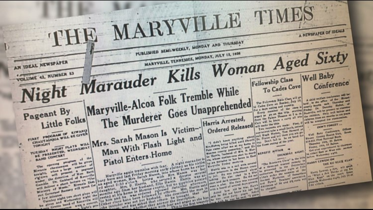 'The more I look, the bigger it gets' | Maryville College class pieces together unsolved murders from 1920s