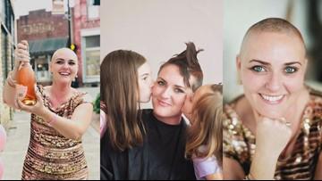 Buddy Check 10: Breast cancer survivor embraces diagnosis through 'head-shaving party' and positive attitude