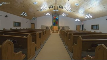 Gatlinburg church reopens 3 years after the wildfires