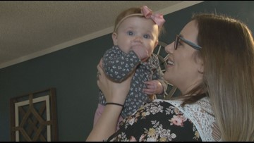 'You could tell a huge difference' | Local mom praises how a chiropractor helped newborn