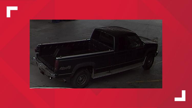 Union County suspect truck