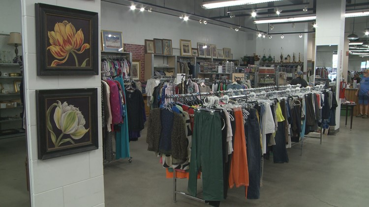 The new location for Lighting the Way Outreach provides more space for the thrift store and food pantry