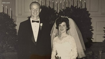 Dr. Bob celebrates his Valentine of nearly 60 years