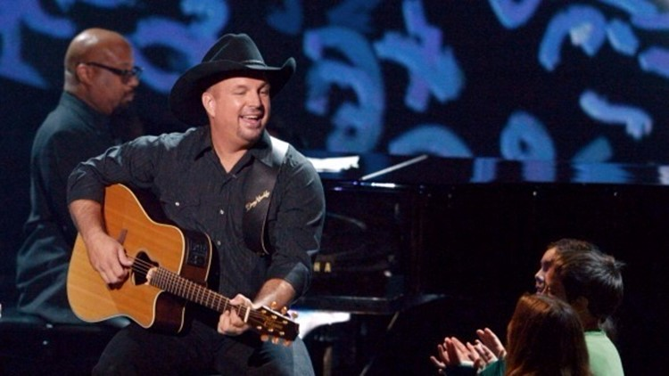 Lucky viewers win pairs of tickets to the Garth Brooks concert at Neyland