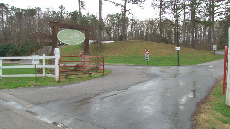 Brookhaven Retreat entrance