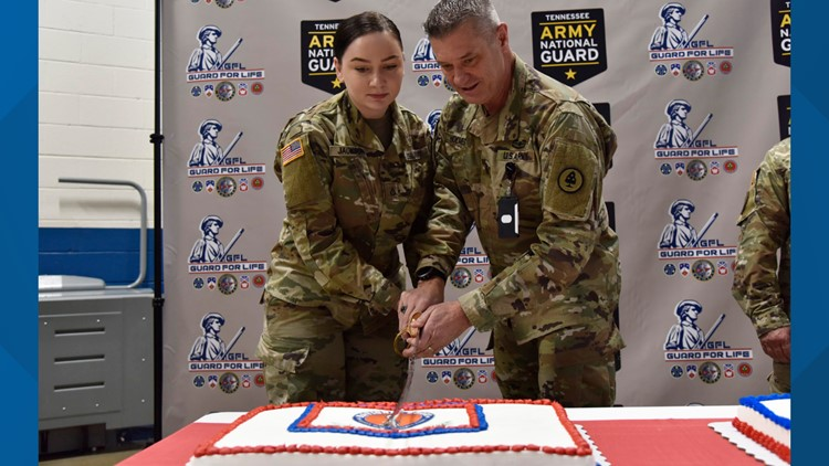 National Guard 383 birthday