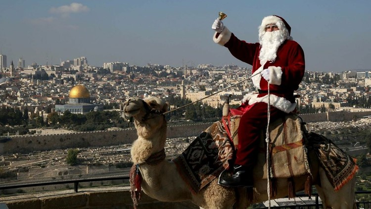 Jerusalem Santa