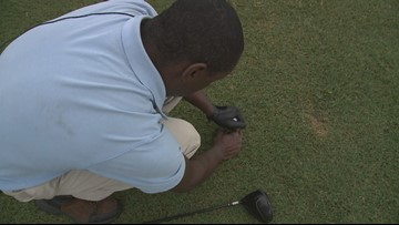 Golfer lost his sight but not his drive to try new things