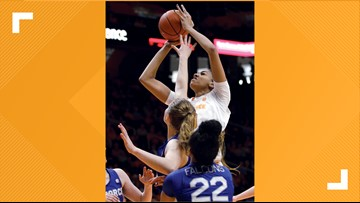 Davis, Burrell score 18, No. 20 Lady Vols ground Air Force