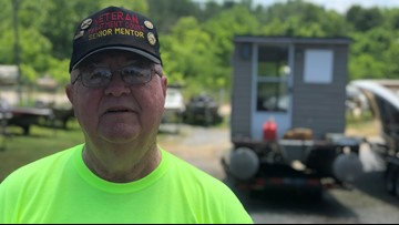 Service & Sacrifice: A man's 4,000-mile river journey will help fellow veterans impacted by PTSD