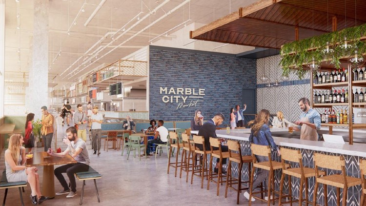Food vendors announced for the new Marble City Market food hall opening in Knoxville's Regas Square