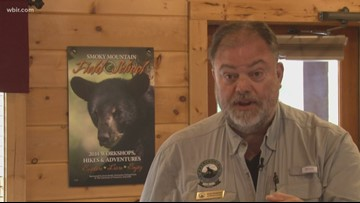 Appalachian Bear Rescue shows off facilities to guests, minus the bears