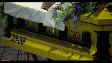 Funeral held for long-time Central Tennessee bus driver