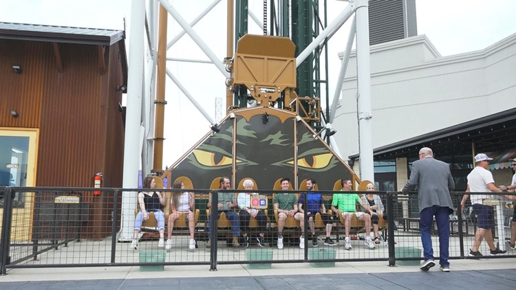 80-year-old thrill ride designer can't get enough of his Pigeon Forge invention