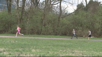 A 26.2-mile goal: Knox County kids run marathon one mile at a time