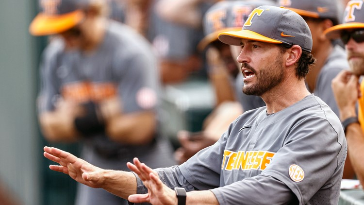 Tennessee to play Virginia in first round of College World Series on Sunday