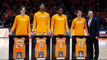 Tennessee basketball senior Lucas Campbell becomes Vols grad assistant