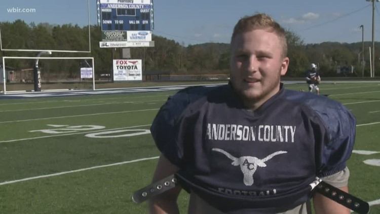 Week 9 Offensive Player of the Week: Anderson County's T.J. Holmes