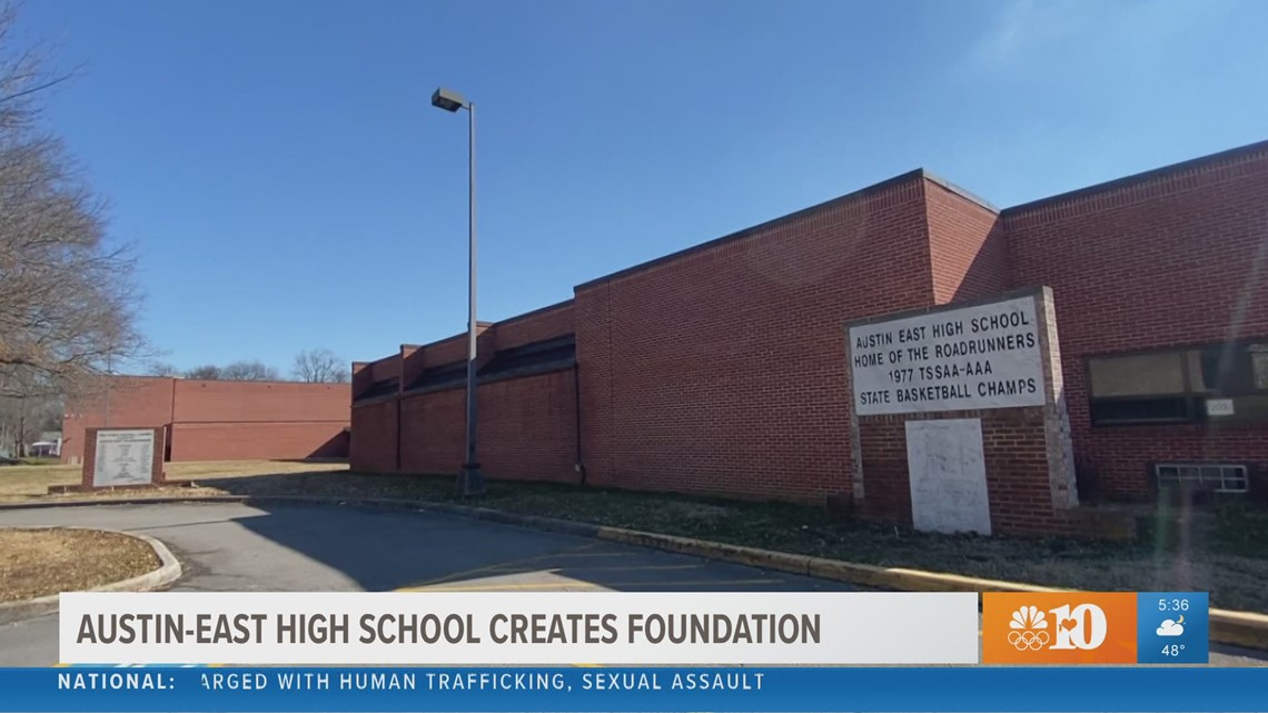 Austin-East High School creates foundation to help provide students, staff with more educational resources