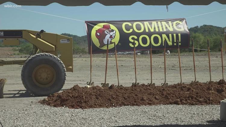 Buc-ee's breaks ground at new development in Sevierville