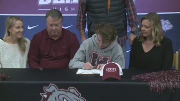 Braden Caldwell Signs with Maryville College