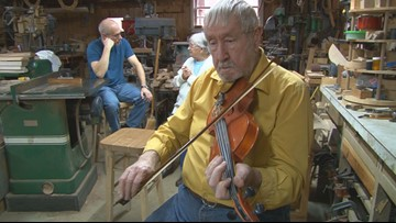 86-year-old Cumberland County man still hand makes fiddles after nearly 7 decades
