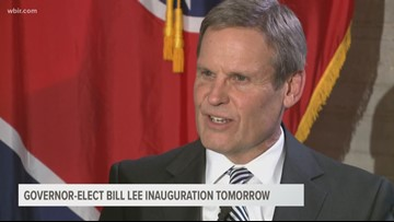 Governor-elect Bill Lee to move inaugural ceremony