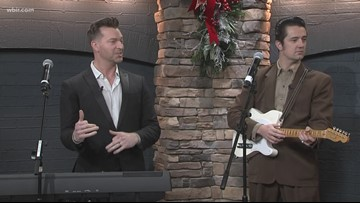 East Tennessee Levi Kreis is coming Home for the Holidays with music from his Christmas album