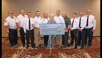 Dolly Parton and her My People Fund donate $200,000 to Sevier Co. volunteer fire departments