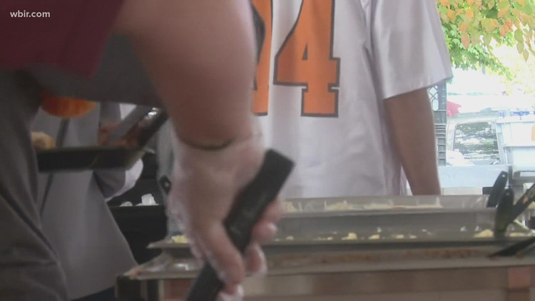 UT Catering donates thousands of pounds of food after home football games