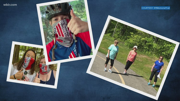 Tennessee hiker first to complete virtual 9-11 trail