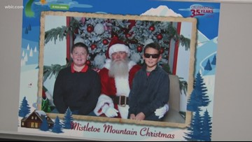 8-year-old boy gets to visit Santa after concussion almost breaks his family's tradition